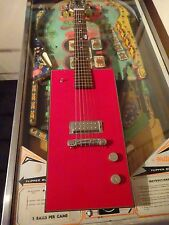 BO DIDDLEY VINTAGE RARE Gretsch MINI DIDDLEY Guitar RED W/ ORIGINAL GIGBAG