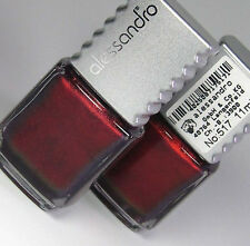 NAIL POLISH NUOVO Alessandro ~ № 517-Borgogna Old School/RETRO CHIC B-Ware 11ml