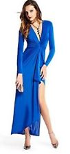 Guess Marciano Royal Blue Silk Gown, Size XS