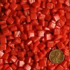 8mm Mosaic Glass Tiles - 2 Ounces About 87 Tiles - Fruit Punch