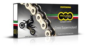 catena trasmissione moto cross enduro Regina Rx3 passo 520 oro offroad KTM CR YZ