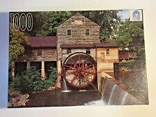 "Jigsaw Puzzle Rose Art 1000 Piece ""Old Mill at Pigeon Forge"""