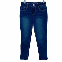 Maurice's High-rise Women Size 4 Stretch Denim Jeans Skinny *
