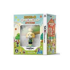 Japanese Edition Nintendo 3ds Animal Crossing Happy Home DESIGNER Amiibo Set