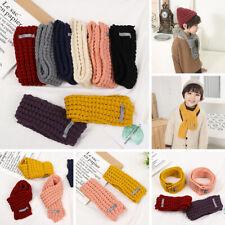 Baby Scarf Neck Bib Fashion Winter Children Knitted Neckerchief Warm Collar