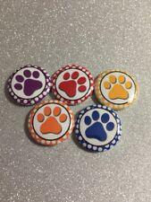 "Animal Paw Print  Decoden 1"" Craft Flatback Button Cabochon  Embellishments"