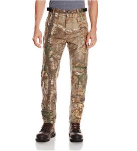 Men's REALTREE Camo 100% Cotton Six Pockets Hunting Camping Fishing Cargo Pants