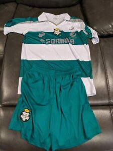 Santos Soccer Team Polo Shirt Jersey and shorts set Size Small S