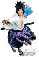 Naruto Shippuden Vibration Stars Sasuke Ver. 2 Figure Figur original Manga