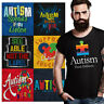 Disability Awareness Tee Shirt Graphic Autistic T-Shirt For Men Womens Gift T