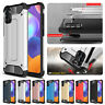 For Samsung Galaxy A21S Shockproof Armor Silicone Bumper Hybrid Hard Case Cover