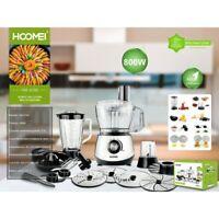 Robot Da Cucina Multifunzione 3 Litri 800W Frullatore Tritatutto HOOMEI HM 6180
