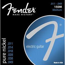 Fender Pure Nickel 150M Electric Guitar Strings, .011 - .0449
