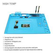 Magnetic Heat Insulation Silicone Mat Repair Kit for Mobile Phone Computer