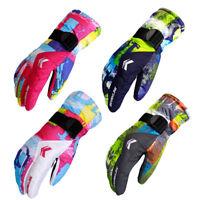 Waterproof Windproof Men's Winter Warm -30℃ Snow Snowboard Ski Sports Gloves
