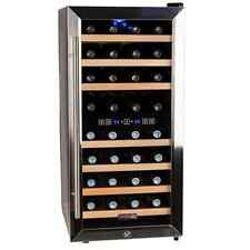 Koldfront TWR327ESS 16 Inch Wide 32 Bottle Wine Cooler with Dual Cooling Zones