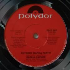 """GLORIA GAYNOR ~ Anybody Wanna Party ~ 12"""" Single USA"""