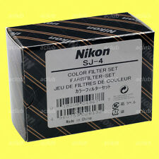 Genuine Nikon SJ-4 Color Filter Set for SB-700 SB700 Speedlite Flash