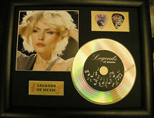 Blondie/Debbie Harry Preprinted Autograph, Gold Disc & Plectrum Presentation #2