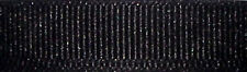 16mm Berisfords Black Grosgrain Ribbon 20m Reel