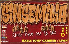 Publicité - cpm - SINSEMILIA fête ses 10 ans