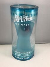 Le Male By JPG 4.2 oz / 125 ml Cologne Tonique Stimulating Summer Fragrance 2007
