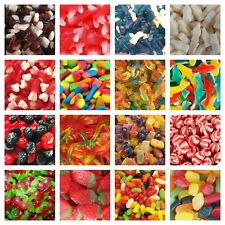 GUMMY JELLY SWEETS Pick N Mix RETRO SWEETS CANDY Wedding Kids Treats Party GUMMI