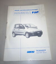 Schulungsunterlage Fiat Multipla Support 01/1999