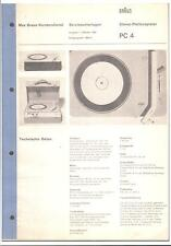 Braun Service Manual para PC 4
