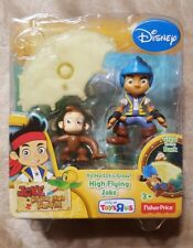 Jake And The Never Land Pirates Yo Ho Let's Glow! High Flying Jake ~Fisher Price