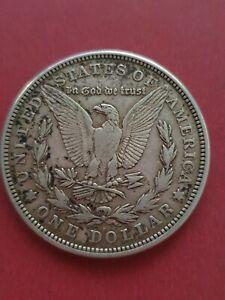1921d Morgan Silver Dollar United States of America USA (900 Silver)