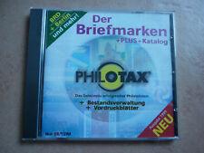 """CD """"Philotax Der Briefmarken+Plus+Katalog""""  mit Bund, Berlin und mehr Ausg. 1999"""