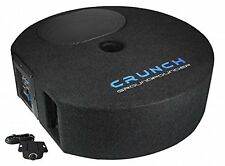 Crunch GP690 Aktiv Subwoofer PKW Bassbox Reserverad 150 x 230 300Watt NEU OVP