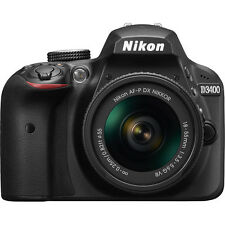 NIKON D3400 DSLR with AF-P DX NIKKOR 18-55mm f/3.5-5.6G VR Lens