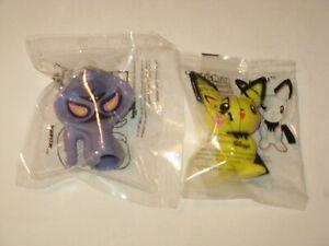 Pokemon Bowl Pals lot Pichu & Arbok Kellogg's cereal premium