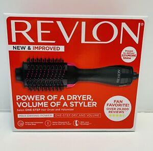 REVLON 1100 Watt 3 Heat 2 Speed Pro Collection One Step Ionic Hair Dryer