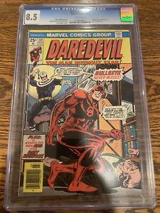 CGC 8.5 DAREDEVIL #131 1ST APPEARANCE BULLSEYE O/W TO WHITE PAGES