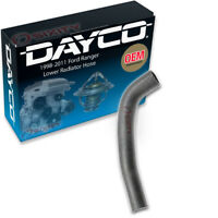 Dayco Lower Radiator Coolant Hose for 1998-2011 Ford Ranger 4.0L V6 Belts gd