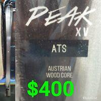 BRAND NEW Austrian Wood Core Snow Ski 158cm or 163cm or 168cm