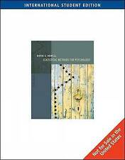 Statistical Methods for Psychology, International Edition by David Howell