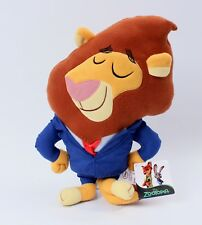 Zootopia Mayor Leodore Lionheart 12 Inch Pillow Plush Disney NEW