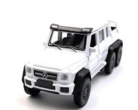 Mercedes Benz G63 6x6 AMG White Model Car Car Scale 1:3 4 (Licensed)