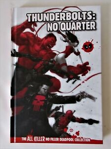 "Livre cartonnée "" Deadpool / Thunderbolts : NO QUARTER "" en V.O"