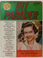 Hit Parader Magazine Back Issue November 1951 Debbie Reynolds FR B