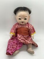 Vintage Japanese Ichimatsu Gofun Baby Doll