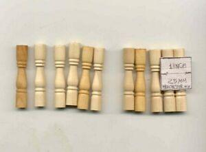 Porch Veranda Spindles Balusters 7029 dollhouse miniature 12pc 1/12 scale