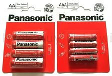 Pack of 8 Panasonic ' AAA ' Size R03 Zinc Carbon 1.5 V Battery