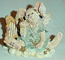 "Celeste The Angel Rabbit Resin Figurine 1993 Boyds Bears & Friends/3"""