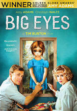 Big Eyes (DVD, 2015) NEW