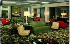 TUCSON, Arizona  AZ   Roadside  WESTERNER HOTEL  Interior Lobby    Postcard
